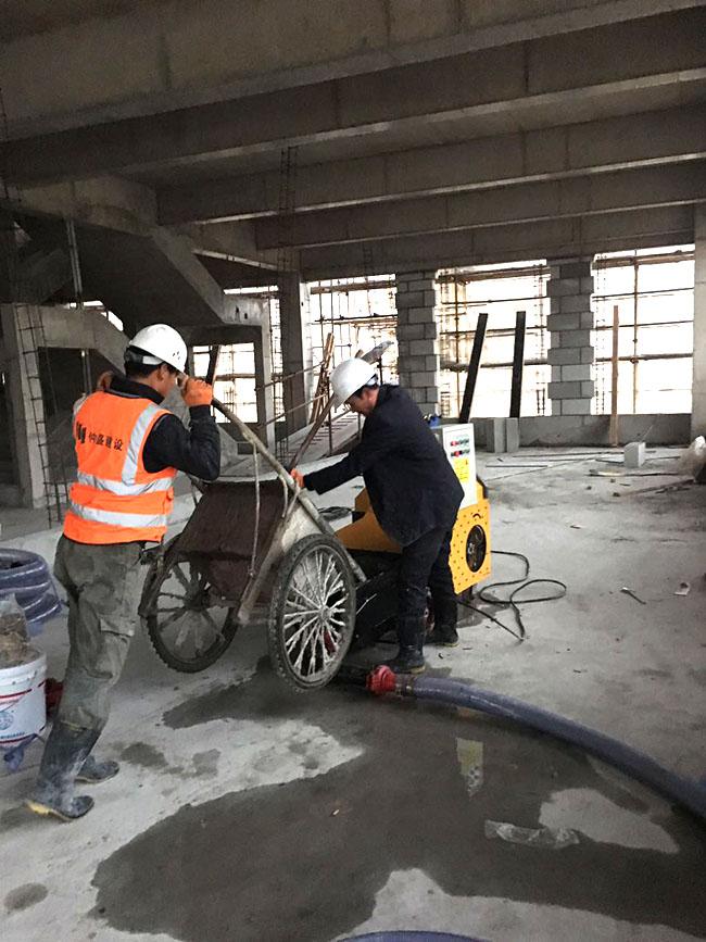 上海二次结构输送泵