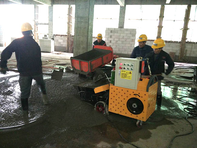开源路桥 临江产业园施工现场