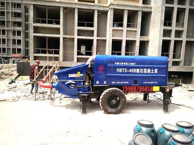 细石混凝土泵厂家