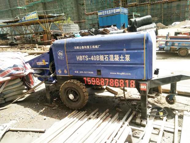 细石混凝土泵