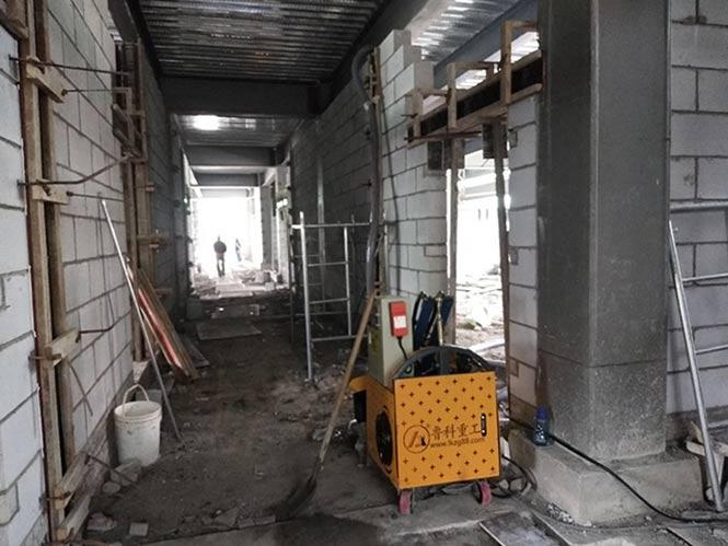 6月18日上海二次构造柱泵合作金土木建设汽车零部件加工厂房项目