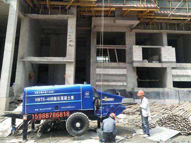 合肥细石混凝土泵润滑系统该如何维护-常见问题有哪些[鲁科重工]
