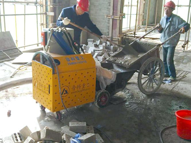 二次构造柱小泵机合作弘扬建设郑红湖住宅小区四期工程项目