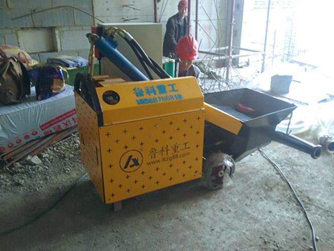 二次构造柱砂浆细石泵合作中南建筑地铁小镇青龙片区项目