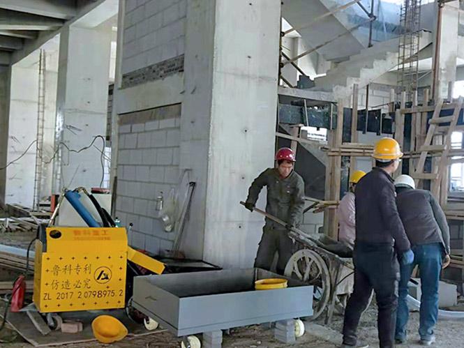 二次构造柱细石浇筑泵合作浙江康达送变电工程公司厂房扩建项目