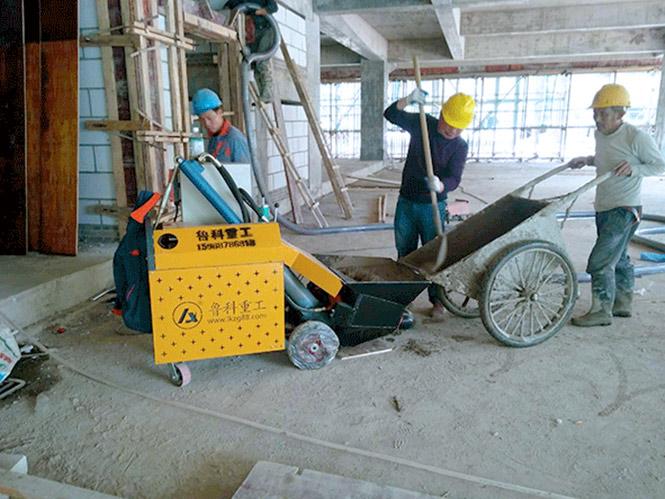二次構造柱 澆注泵合作上海建工四建星河傳奇花園項目