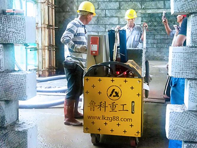 二次构造柱泵合作中建八局中兴通讯南京智能制造基地一期工程项目