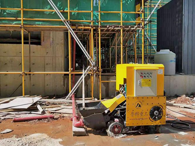 二次构造柱用泵合作江苏扬建RHS-050201B地块项目[鲁科重工