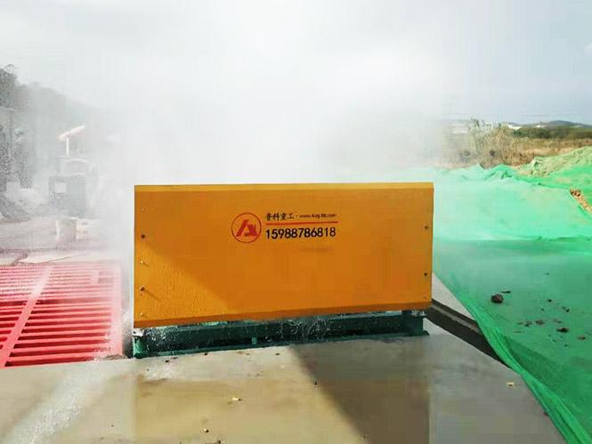 滚轴式工程洗轮机合作南通四建集团有限公司-南京市宁南小学项目