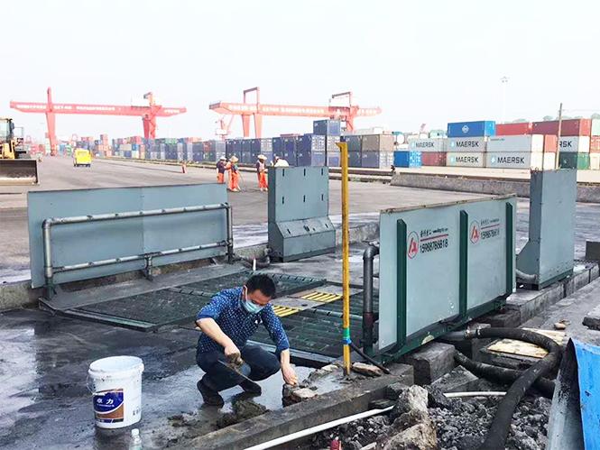 重型洗轮机合作中国自由贸易试验区-泸州港电厂项目