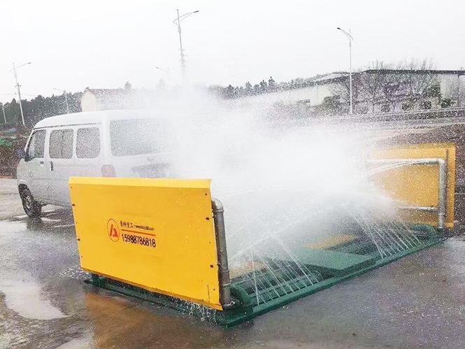 滚轴式洗轮机合作南京苏舜建筑-晶桥四期安置房项目