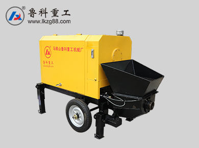 农村小型混凝土输送泵