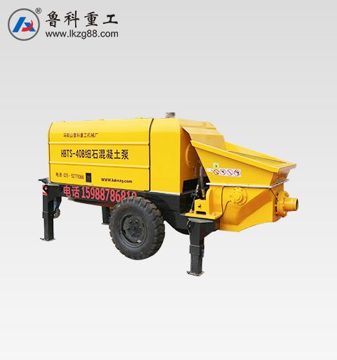 细石混凝土泵租赁
