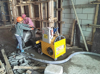 构造柱输送泵
